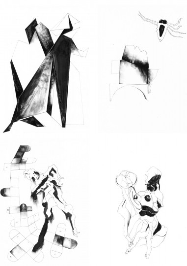 Nina Annabelle Maerkl_Mikroklima Drawings 3_2020