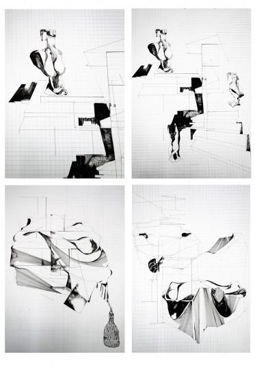 Nina Annabelle Märkl_Drawings_1, 70 x 50 cm, 2020