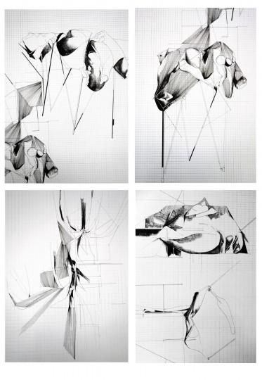 Nina Annabelle Märkl_Drawings_2, 70 x 50 cm, 2020