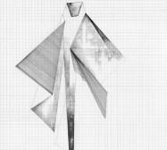 Grids 10 | Tusche und Bleistift auf Papier | 42 x 28 cm