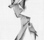 Grids 11 | Tusche und Bleistift auf Papier | 42 x 28 cm