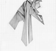 Grids 12 | Tusche und Bleistift auf Papier | 42 x 28 cm