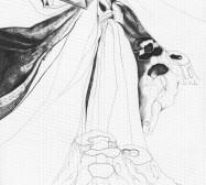 Grids 16 | Tusche und Bleistift auf Papier | 42 x 28 cm
