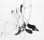 Grids 17 | Tusche und Bleistift auf Papier | 42 x 28 cm