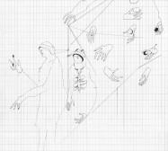 Grids 5 | Tusche und Bleistift auf Papier | 42 x 28 cm
