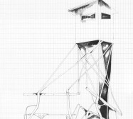Grids 6 | Tusche und Bleistift auf Papier | 42 x 28 cm