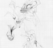 Grids 8 | Tusche und Bleistift auf Papier | 42 x 28 cm