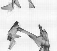 Grids 9 | Tusche und Bleistift auf Papier | 42 x 28 cm