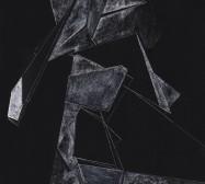 Scrapes 1 | Drawing on scraperboard | 30 x 24 cm | 2021
