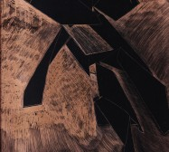 Scrapes 4 | Drawing on scraperboard | 30 x 24 cm | 2021