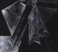 Scrapes 8 | Drawing on scraperboard | 30 x 24 cm | 2021