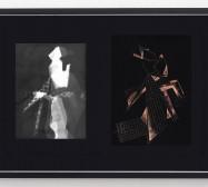 Folds, Scrapes and Light | Fotogramm, Zeichnung auf Scraperboard | 50 x 70 cm | 2021